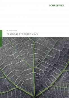 Schaeffler publica o seu Relatório de Sustentabilidade 2020